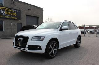 Used 2015 Audi Q5 Black Edition, Technik Prestige S-Line / NAVI / AWD for sale in Newmarket, ON