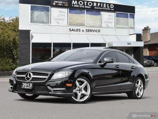 Used 2013 Mercedes-Benz CLS-Class CLS550 4MATIC AMG PKG *Premium Navi Loaded* for sale in Scarborough, ON