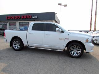 Used 2016 RAM 1500 Longhorn Limited Crew Cab 4WD Navi Camera Certified for sale in Milton, ON