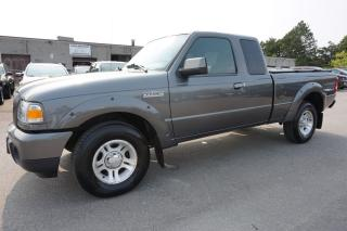 Used 2009 Ford Ranger V6 SPORT SUPER CAB CERTIFIED 2YR WARRANTY *1 OWNER* ALLOYS BED COVER AUX FOG LIGHT for sale in Milton, ON