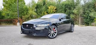 Used 2018 Jaguar XE S AWD TEXT.US 647.678.7778  S.PKG NAVI SUNROOF CLEANCARFAX  for sale in Mississauga, ON