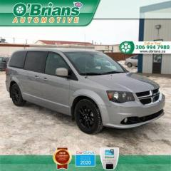 Used 2020 Dodge Grand Caravan GT w/Command Start, Leather, Heated Seats and Steering Wheel for sale in Saskatoon, SK