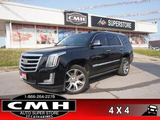Used 2015 Cadillac Escalade Premium  AWD NAV CAM ROOF DVD 7-PASS for sale in St. Catharines, ON