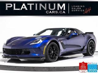 Used 2017 Chevrolet Corvette Z06 650HP, 2LZ, AUTO, NAV, HUD, CAM, VENTILATED for sale in Toronto, ON