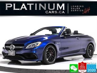 Used 2017 Mercedes-Benz C-Class AMG C63 S, 503HP, CONVERTIBLE, NAV, HUD, AMG NIGHT for sale in Toronto, ON