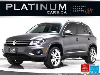 Used 2012 Volkswagen Tiguan Highline 4Motion, AWD, NAV, PANO, HEATED, PARKING for sale in Toronto, ON