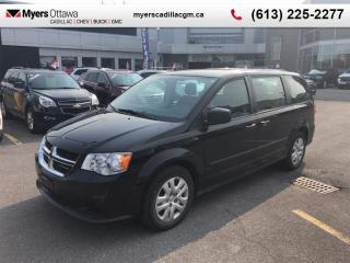 Used 2016 Dodge Grand Caravan SXT  SE, CVP, AC, STOW N GO, CLEAN CARFAX, LOW KM for sale in Ottawa, ON