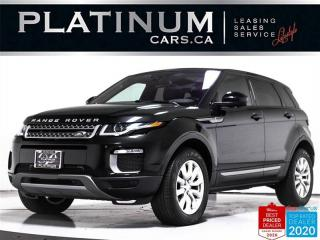 Used 2017 Land Rover Evoque AWD, TECH PKG, NAV, PANO, CAM, HEATED, POWER TAIL for sale in Toronto, ON