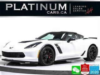 Used 2018 Chevrolet Corvette Z06 650HP, 2LZ, AUTO, ALCANTARA, NAV, HUD, BOSE for sale in Toronto, ON