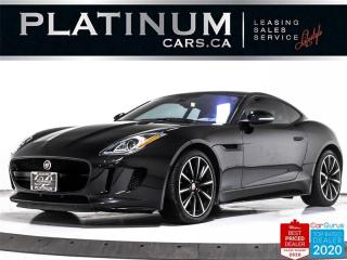 Used 2017 Jaguar F-Type 340HP, NAV, PANO, CAM, HEATED, MERIDIAN, BLUETOOTH for sale in Toronto, ON
