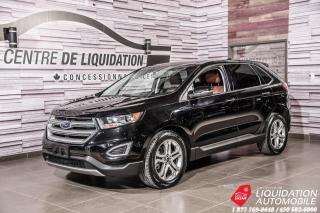 Used 2017 Ford Edge Titanium+MAGS+TOIT PANO+NAV for sale in Laval, QC