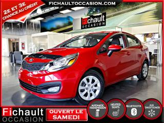 Used 2013 Kia Rio Berline  LX+ *** PNEUS HIVER INCLUS*** for sale in Châteauguay, QC