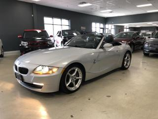 Used 2008 BMW Z4 3.0SI*ROADSTER*6-SPEED MANUAL*LOW KM* for sale in North York, ON