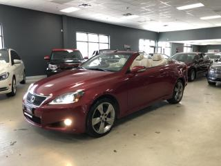 Used 2011 Lexus IS 250 C PREMIUM*NAVIGATION*BACK-UP CAMERA*CERTIFIED* for sale in North York, ON