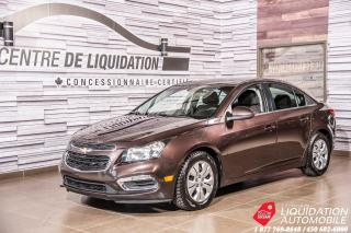 Used 2015 Chevrolet Cruze LT+GR ELECTRIQUE+AIR CLIM for sale in Laval, QC