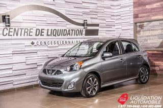 Used 2018 Nissan Micra SR + MAGS + CAM. DE RECUL + USB for sale in Laval, QC