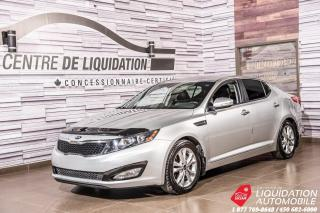 Used 2013 Kia Optima EX+CAMERA DE RECUL+AIR CLIM+MAGS+GR ELECTRIQUE for sale in Laval, QC