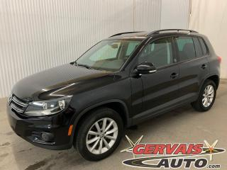 Used 2017 Volkswagen Tiguan Wolfsburg Edition 4MOTION Toit panoramique Cuir Mags for sale in Trois-Rivières, QC