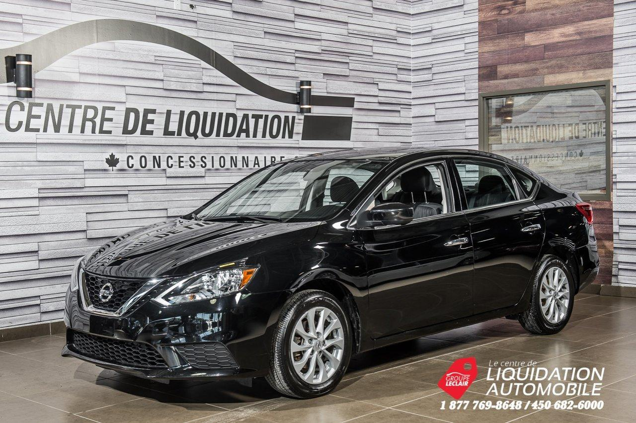 used 2017 nissan sentra sv mags camera de recul gr electrique air clim for sale in laval, quebec carpages.ca