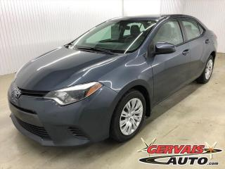 Used 2015 Toyota Corolla LE A/C SIÈGES CHAUFFANTS CAMÉRA for sale in Shawinigan, QC