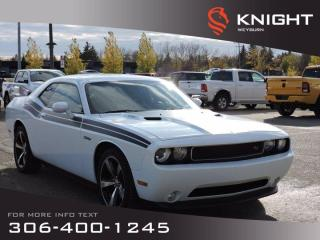 Used 2014 Dodge Challenger R/T Classic | Leather Seats | Heated Seats | Remote Start | Performance Steering for sale in Weyburn, SK