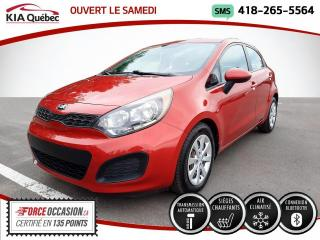 Used 2015 Kia Rio LX+* 5 PORTES* AT* A/C* SIEGES CHAUFFANT for sale in Québec, QC