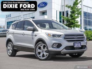 Used 2018 Ford Escape Titanium for sale in Mississauga, ON