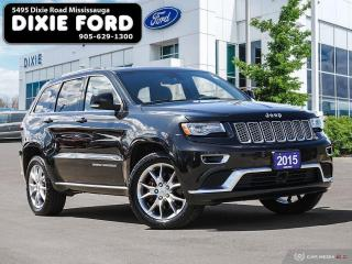 Used 2015 Jeep Grand Cherokee Summit for sale in Mississauga, ON