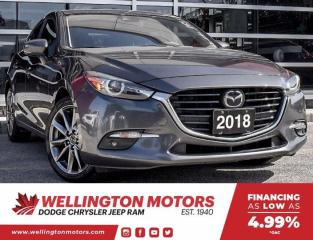 Used 2018 Mazda MAZDA3 Sport GT | Manual | New Rear Pads + Rotors !! for sale in Guelph, ON