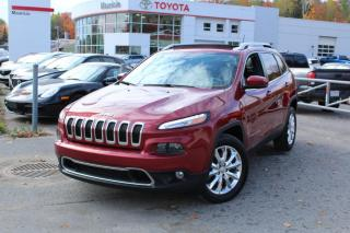 Used 2015 Jeep Cherokee 4 RM, 4 portes, Limited for sale in Shawinigan, QC