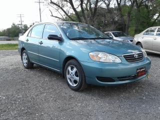 Used 2005 Toyota Corolla CE for sale in Oak Bluff, MB