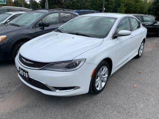 Used 2016 Chrysler 200 Limited for sale in Peterborough, ON