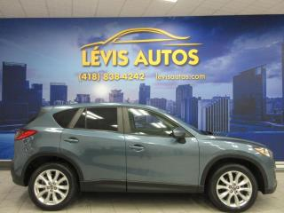 Used 2015 Mazda CX-5 GT AWD 53500 KM GPS CUIR TOIT OUVRANT TO for sale in Lévis, QC