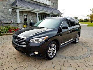 Used 2015 Infiniti QX60 7 passagers  NAV DVD Cruise Adaptatif De for sale in St-Eustache, QC
