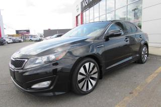 Used 2012 Kia Optima SX AUTOMATIQUE for sale in Montmagny, QC