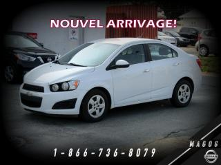 Used 2012 Chevrolet Sonic LT + BLUETOOTH + CRUISE + A/C + GR ÉLECT for sale in Magog, QC