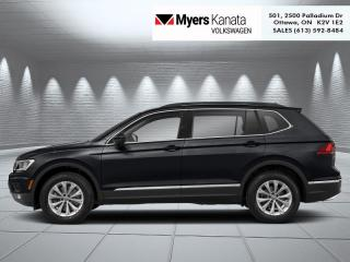 New 2020 Volkswagen Tiguan Trendline 4MOTION  -  Apple CarPlay for sale in Kanata, ON