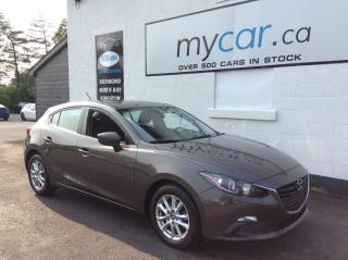 Used 2016 Mazda MAZDA3 GS ALLOYS, HEATED SEAT, BACKUP CAM, BLUETOOTH!! for sale in Richmond, ON