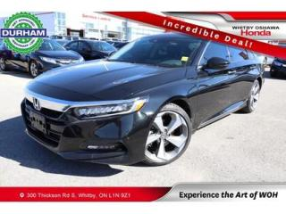 Used 2020 Honda Accord Touring 2.0T for sale in Whitby, ON