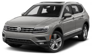 New 2020 Volkswagen Tiguan Highline for sale in Surrey, BC
