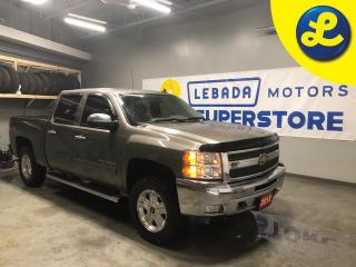 Used 2012 Chevrolet Silverado 1500 LT 4WD Crew Cab Z71 * Leather Interior * Sprayed bed liner * Chrome side steps * Heated front seats *  Window rain guards * Front hood bug deflector * for sale in Cambridge, ON