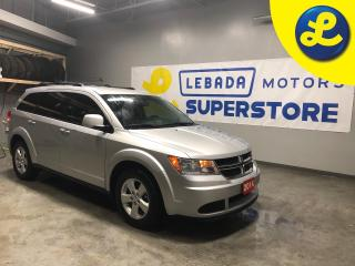 Used 2014 Dodge Journey SE Plus * Uconnect 4.3S CD/MP3 * 7 Passenger * 2nd Row Seat w/2 Child Boosters Passenger in Seat Cushion Storage * Push button ignition * Keyless/Pass for sale in Cambridge, ON