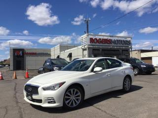 Used 2016 Infiniti Q50 2.99% Financing - 3.0t AWD - NAVI - SUNROOF - REVERSE CAM for sale in Oakville, ON