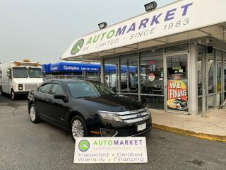 Used 2010 Ford Fusion Hybrid HYBRID! LOADED! NAVI! BLUETOOTH! CAMERA! FREE BCAA MBRSHP & WRNTY! for sale in Langley, BC
