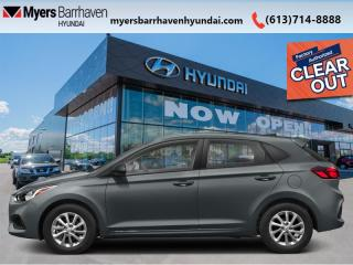New 2020 Hyundai Accent Ultimate  - Sunroof - $148 B/W for sale in Nepean, ON