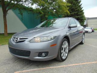 Used 2008 Mazda MAZDA6 ****VÉHICULE TRES PROPRE******V6***CUIR* for sale in St-Eustache, QC