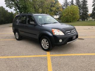Used 2006 Honda CR-V SE All Wheel Drive! 162,000km remote start for sale in Winnipeg, MB
