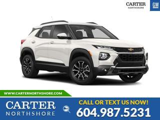 New 2021 Chevrolet TrailBlazer LT PWR DRIVER SEAT - HEATED SEATS - BLIND SENSOR - SKID PLATE for sale in North Vancouver, BC