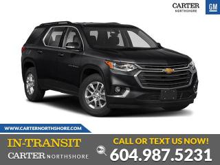 New 2020 Chevrolet Traverse RS for sale in North Vancouver, BC