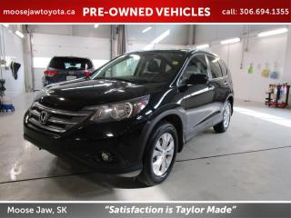 Used 2014 Honda CR-V Touring for sale in Moose Jaw, SK